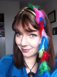 feathers in hair feather hair extensions bad give a rooster a
