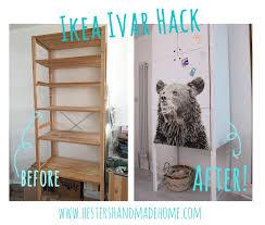 ivar hack hester s house updates ikea ivar hack hester s handmade home