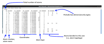 format file atom exercise 1 getting started with tinker amoeba advanced potential
