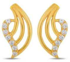 design of earrings gold 25 most attractive and simple gold earrings designs