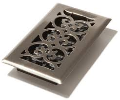 Reggio Floor Grilles by Accord Select Manhattan Oilrubbed Bronze Steel Floor Register