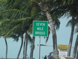 seven mile bridge near key west florida from funny restroom