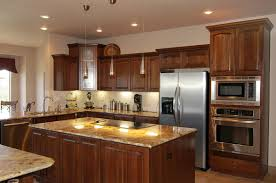 brown and cream with luxury kitchen island u2013 home design and decor