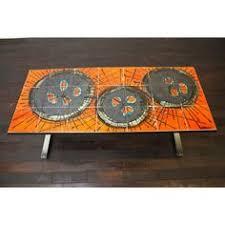 tiled coffee table 1960 u0027s malkin retro vintage retro vintage