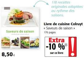 livre cuisine colruyt cora promotion plans de ville plastifiés geplastificeerde