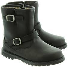 ugg womens fabrizia boots black 57 biker boots ugg ugg australia 039 kensington 039 biker boots