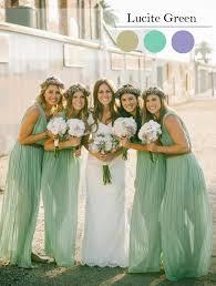 aquamarine bridesmaid dresses pantone s top 10 fashion colors for wedding color trends