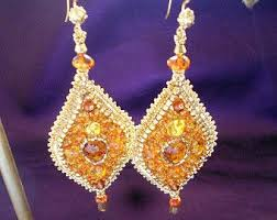 Handmade Seed Beaded Gold Plated 57 Best Chapas Images On Pinterest Earrings Bead Jewelry And