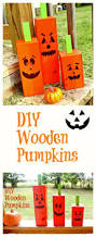 Wood Halloween Crafts The 25 Best Wooden Pumpkin Crafts Ideas On Pinterest Wooden