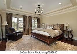 chambre de maitre plateau plafond maître chambre à coucher plafond