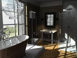 cute italian bathroom design with rectangle shape brown wooden