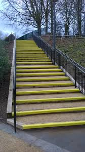 Non Slip Nosing Stairs by Anti Slip Stair Nosings Sure Grip Non Slip Grp Systems