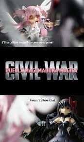 Magi Memes - puella magi madoka magica civil war puella magi madoka magica