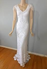 hippie wedding dresses white crochet hippie wedding dress bohemian wedding dress white