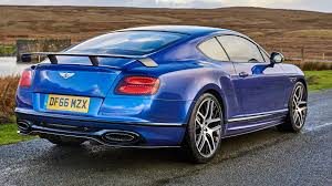 bentley coupe blue bentley continental supersports 2017 review by car magazine