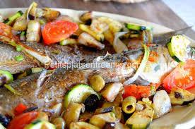 cuisiner du mulet mulet grillé aux légumes du soleil petits plats entre amis