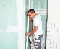 rollputz badezimmer gipskartonplatten kleben statt verputzen bauen de