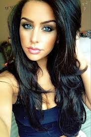 hairstyles for brown hair and blue eyes quick and easy hairstyles for long thick hair quick and easy