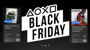 ps4 black friday sale playstation u0027s epic black friday sale has arrived