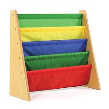book storage kids amazon com tot tutors kids book rack storage bookshelf natural