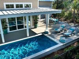 Swimming Pool Ideas For Small Backyards Small Backyard Pools Toronto Small Outdoor Pool Designs Small