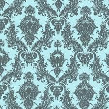 tempaper wallpaper tempaper damsel aqua grey wallpaper tempaper designs