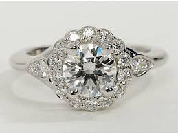 vintage flower rings images Best flower engagement rings engagement rings depot jpg