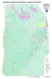 Map Of South Florida Hummocks Everglades South Florida