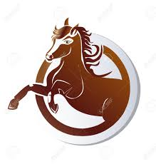 mustang horse logo horse icon logo vector royalty free cliparts vectors and stock