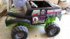 power wheels grave digger monster truck find more power wheels