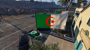 Algerian Flag Algerian Flags Drapeau Algérie Gta5 Mods Com