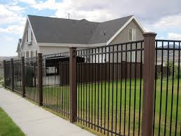 using trex posts with ornamental fencing trex fencing the
