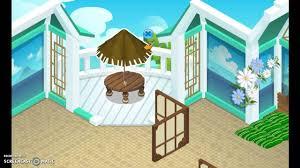 animal jam summer house speed decorating part 1 youtube