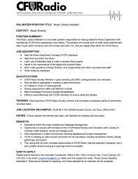 Resume To Work Employment And Internships U2014 Cfuradio 88 7 Fm