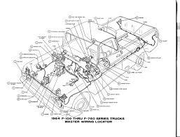 free auto wiring diagram 1964 ford f 100 thru f 750 truck master