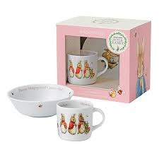 wedgwood rabbit tea set rabbit nurseryware by wedgwood