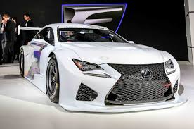 new lexus rcf hear the lexus rc f gt3 out testing on the track w video