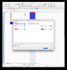 Open Office Spreadsheet Openoffice How To Color Rows Based On A Check Box Open Office