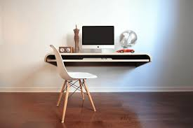 wall mounted desk decor references