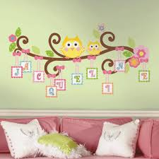 Flower Wall Decals For Nursery by Amazon Com Roommates Rmk2079gm Scroll Tree Letter Branch Peel And