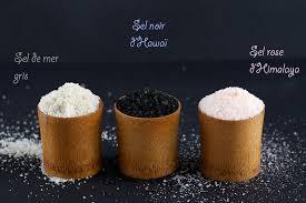 composition du sel de cuisine saler autrement sel gris noir bleu chaudron pastel