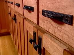 choosing kitchen cabinet hardware lovetoknow intended for rustic