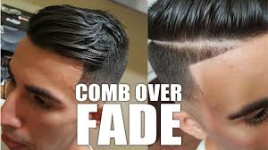 how to do a mid skin fade comb over with a part line best barber
