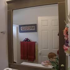 Wood Framed Mirrors For Bathroom by Bed U0026 Bath Wood Framed Mirrors For Bathroom Mirror Frames With