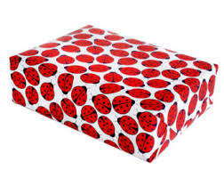 ladybug wrapping paper bug wrapping paper etsy