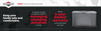 amazon com briggs u0026 stratton 40336 20kw standby generator gray