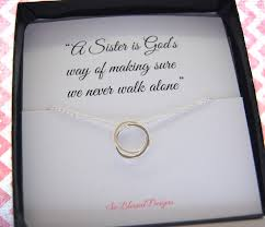 sentimental gifts for necklace poem quote about