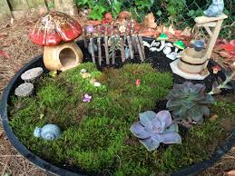 Outdoor Fairy Garden Ideas by Accessories For The Fairy Garden Easy Crafts And Homemade