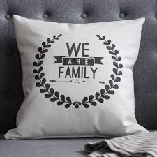 pillow rhonna designs we are family latter day home