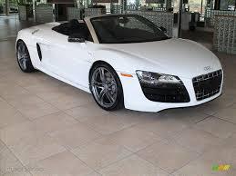 Audi R8 White - 2012 ibis white audi r8 spyder 5 2 fsi quattro 56087666